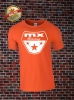 MX Racing T-Shirt Orange Weiß