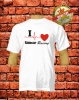 I Love Sidecar Racing T-Shirt Weiß