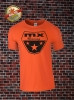 MX Racing T-Shirt Orange Schwarz